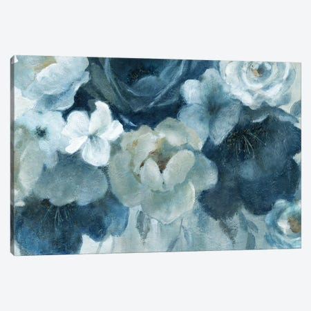 Blue on Blue 3-Piece Canvas #CRO741} by Carol Robinson Canvas Artwork