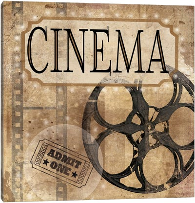 Cinema Canvas Art Print