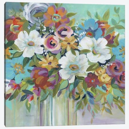 Confetti Bouquet I Canvas Print #CRO749} by Carol Robinson Canvas Artwork