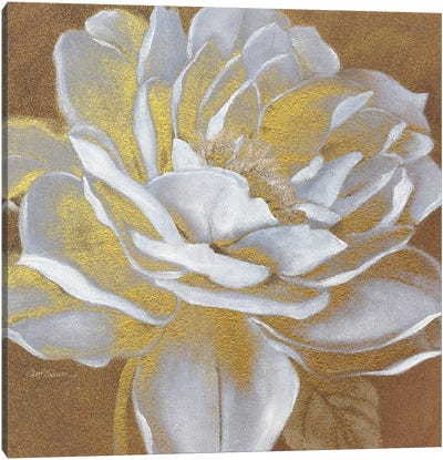 Golden Bloom I Canvas Art Print