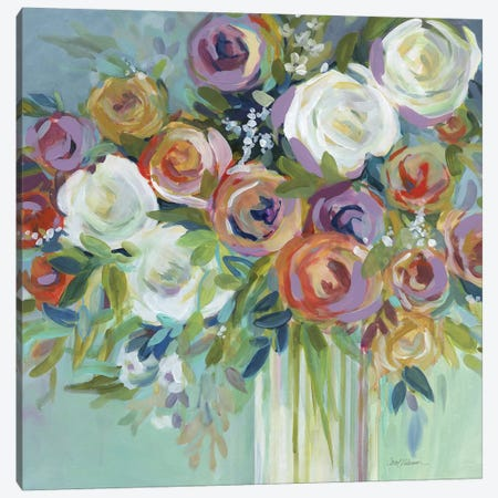 Confetti Bouquet II Canvas Print #CRO750} by Carol Robinson Art Print