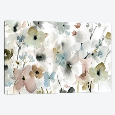 Evening Garden Canvas Print #CRO755} by Carol Robinson Canvas Art