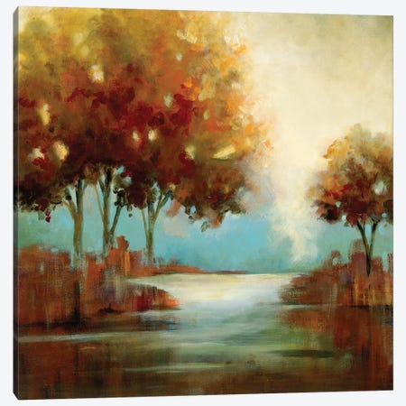 Fall River II Canvas Print #CRO757} by Carol Robinson Canvas Artwork