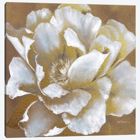Golden Bloom II Canvas Print #CRO75} by Carol Robinson Canvas Artwork