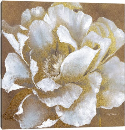 Golden Bloom II Canvas Art Print
