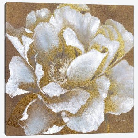 Golden Bloom II Canvas Print #CRO75} by Carol Robinson Canvas Artwork