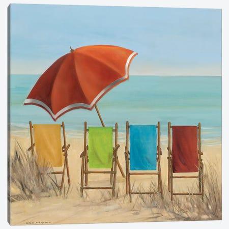 Four Summer I Canvas Print #CRO762} by Carol Robinson Canvas Art