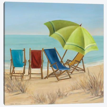 Four Summer II Canvas Print #CRO763} by Carol Robinson Canvas Artwork