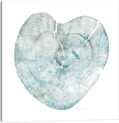 Heart Tree II Canvas Art Print