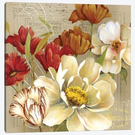 Jardin I Canvas Print #CRO780} by Carol Robinson Canvas Art