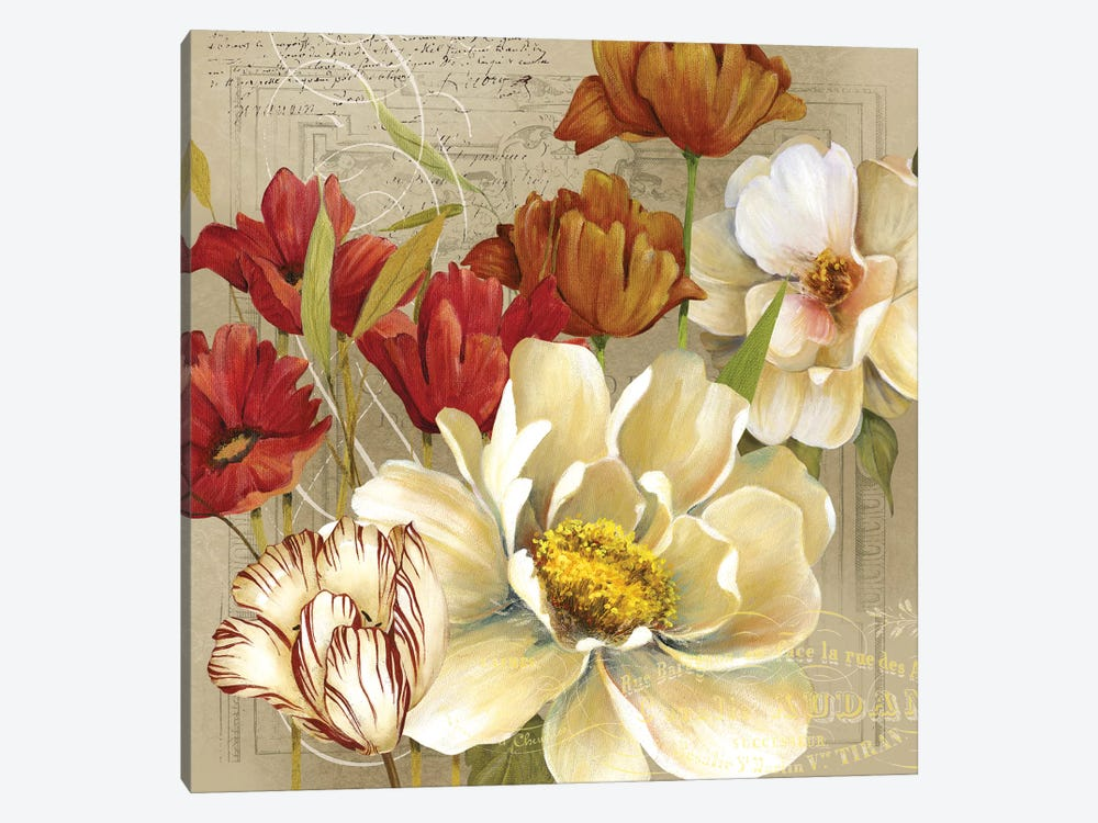 Jardin I by Carol Robinson 1-piece Canvas Wall Art