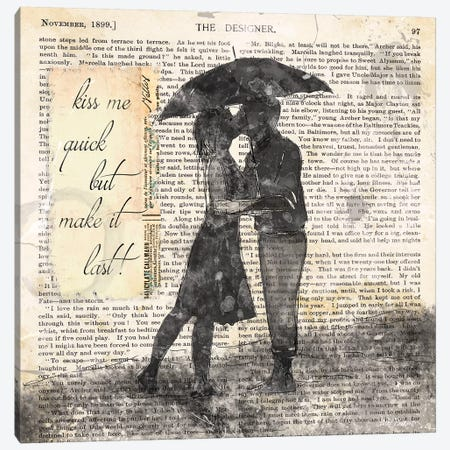 Make it Last Canvas Print #CRO786} by Carol Robinson Art Print