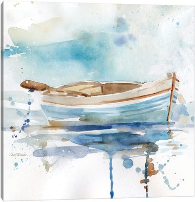 Malibu Marina I Canvas Art Print