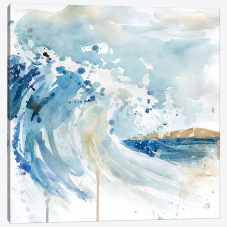Malibu Surf I Canvas Print #CRO791} by Carol Robinson Canvas Art Print