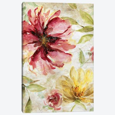 Morning Petals II 3-Piece Canvas #CRO797} by Carol Robinson Canvas Wall Art