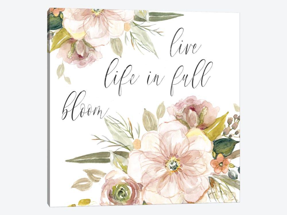 Peach Bloom II by Carol Robinson 1-piece Canvas Art Print