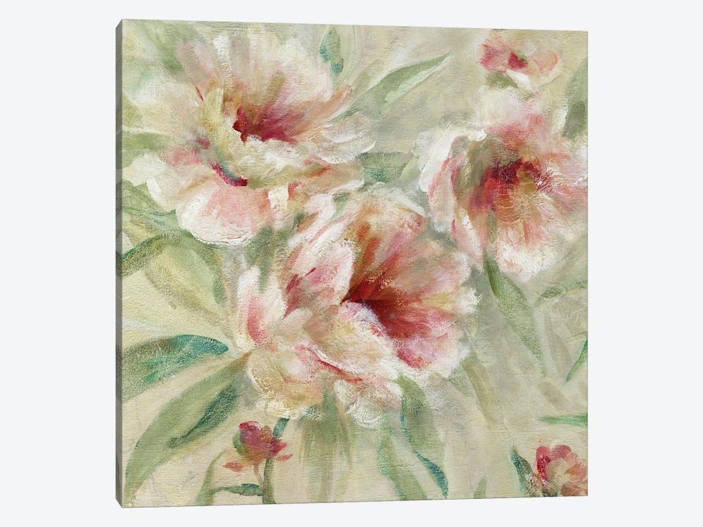 Peony Garden I by Carol Robinson 1-piece Canvas Print