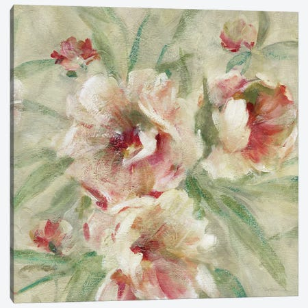 Peony Garden II 3-Piece Canvas #CRO811} by Carol Robinson Canvas Wall Art