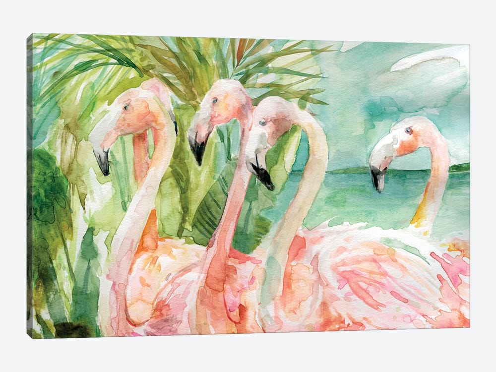 Pink Ladies by Carol Robinson 1-piece Canvas Wall Art