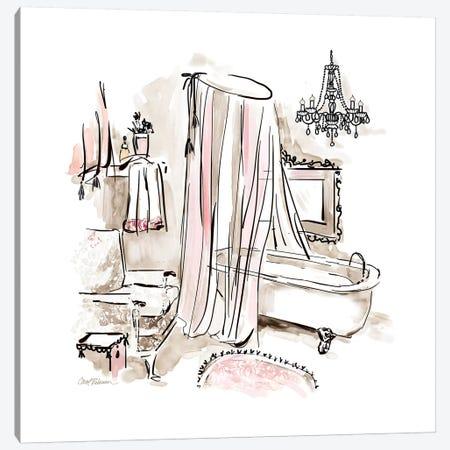 Pink Opulence I Canvas Print #CRO814} by Carol Robinson Art Print