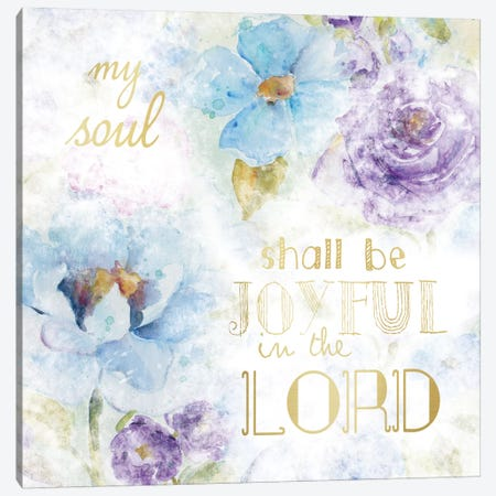 Joyful Canvas Print #CRO81} by Carol Robinson Canvas Art