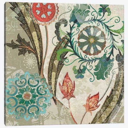 Royal Tapestry I Canvas Print #CRO829} by Carol Robinson Art Print