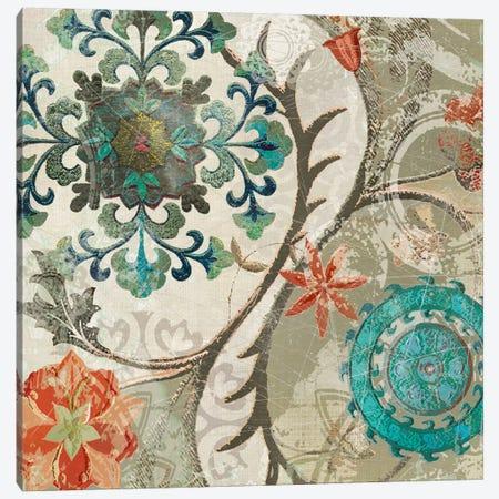 Royal Tapestry II Canvas Print #CRO830} by Carol Robinson Canvas Artwork