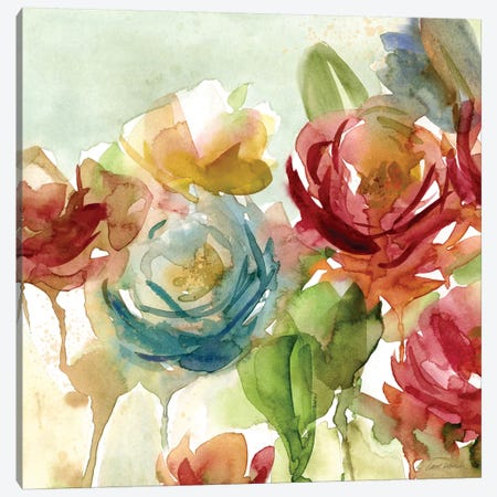 Secret Garden I 3-Piece Canvas #CRO831} by Carol Robinson Canvas Artwork