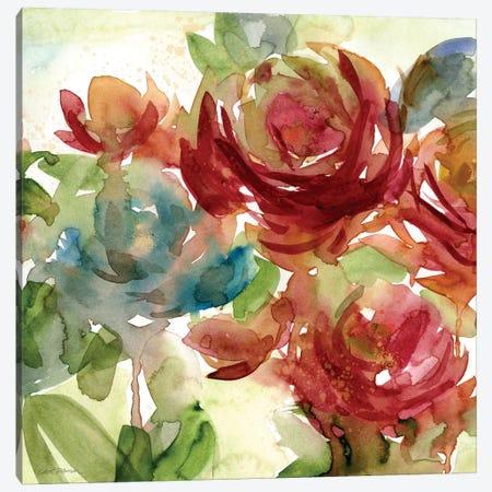 Secret Garden II Canvas Print #CRO832} by Carol Robinson Canvas Wall Art