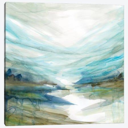 Soft River Reflection Canvas Print #CRO837} by Carol Robinson Canvas Art Print