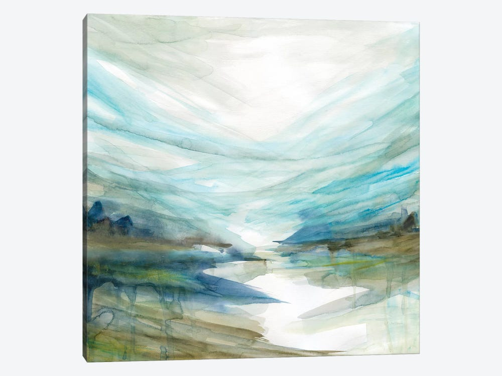 Soft River Reflection by Carol Robinson 1-piece Canvas Wall Art
