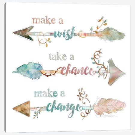 Make A Wish Canvas Print #CRO83} by Carol Robinson Canvas Artwork