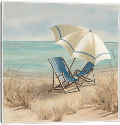 Summer Vacation II Canvas Art Print