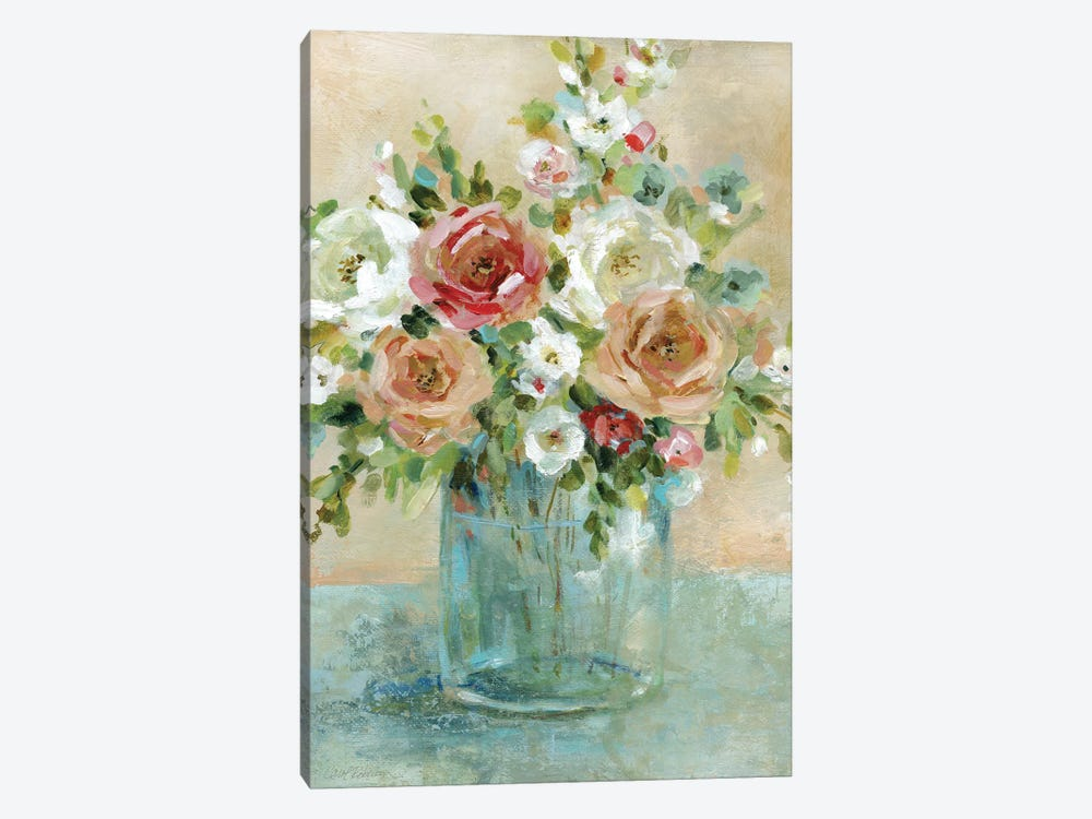 Sun Drenched Arrangements by Carol Robinson 1-piece Canvas Art