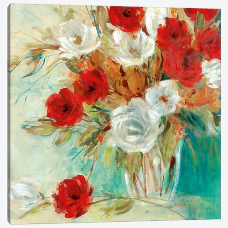 Vibrant Bouquet II Canvas Print #CRO855} by Carol Robinson Canvas Print
