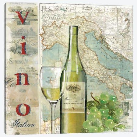 Vino Canvas Print #CRO857} by Carol Robinson Canvas Print