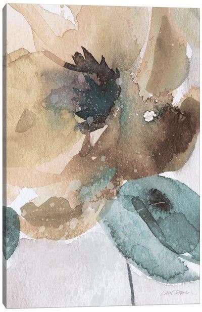 Watercolor Poppy II Canvas Art Print
