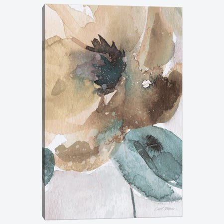 Watercolor Poppy II 3-Piece Canvas #CRO859} by Carol Robinson Canvas Art