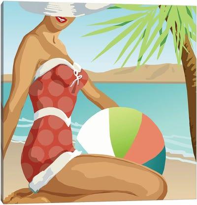 Beach Beauty I Canvas Art Print