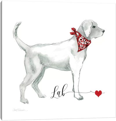 Must Love Labs Canvas Art Print