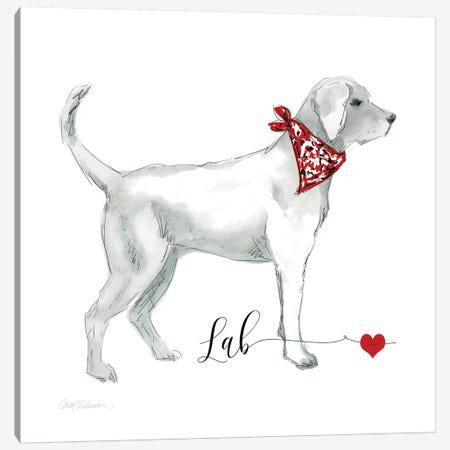 Must Love Labs Canvas Print #CRO86} by Carol Robinson Canvas Print