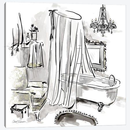 Opulent Bath I Canvas Print #CRO887} by Carol Robinson Canvas Wall Art