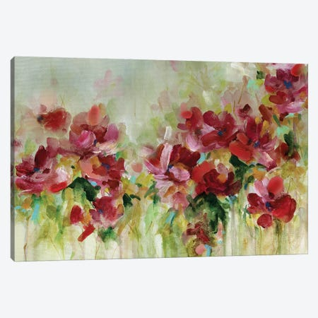 Playful Garden Canvas Print #CRO889} by Carol Robinson Canvas Art Print