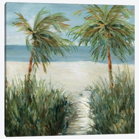 Sandy Beachwalk Canvas Print #CRO892} by Carol Robinson Canvas Art