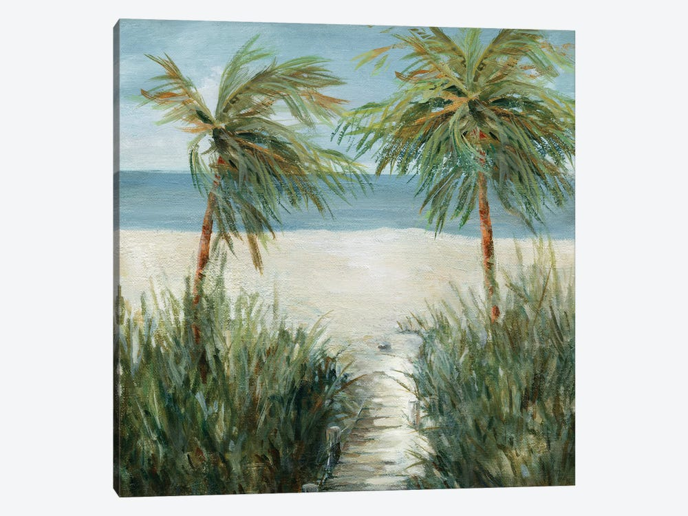 Sandy Beachwalk by Carol Robinson 1-piece Art Print