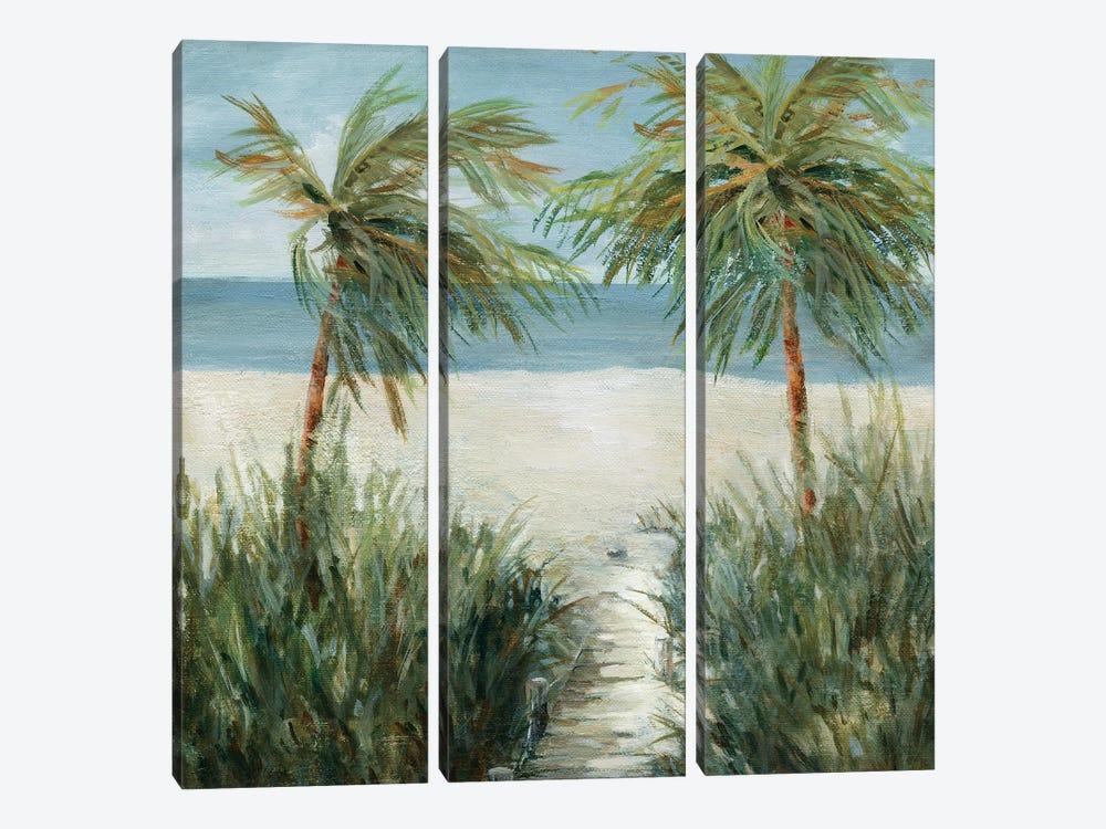 Sandy Beachwalk by Carol Robinson 3-piece Art Print