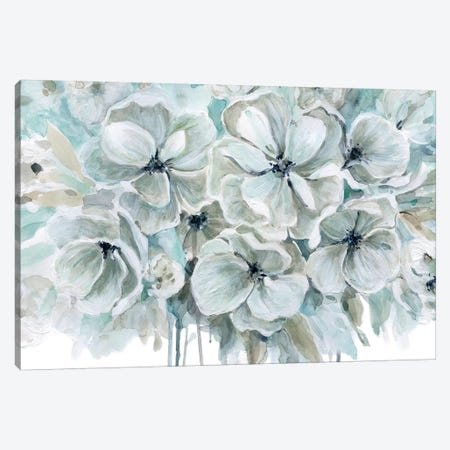 Teal Harmony I Canvas Print #CRO898} by Carol Robinson Canvas Art