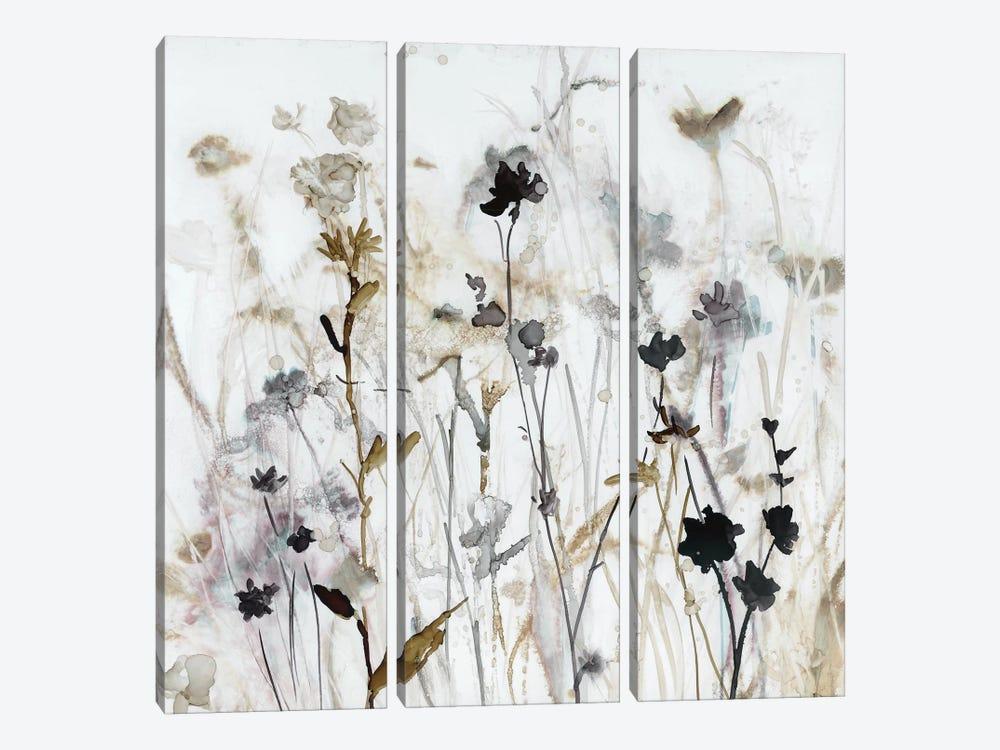 Wildflower Mist I by Carol Robinson 3-piece Canvas Print