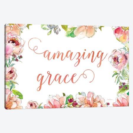 Amazing Grace 3-Piece Canvas #CRO904} by Carol Robinson Canvas Art Print