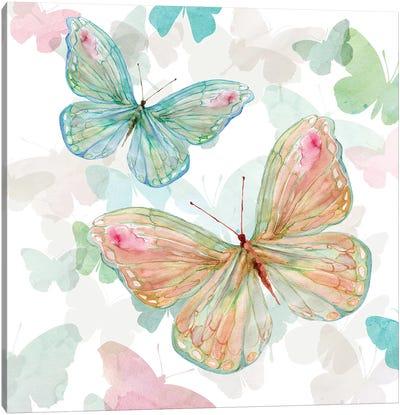 Asbury Garden Butterflies II Canvas Art Print